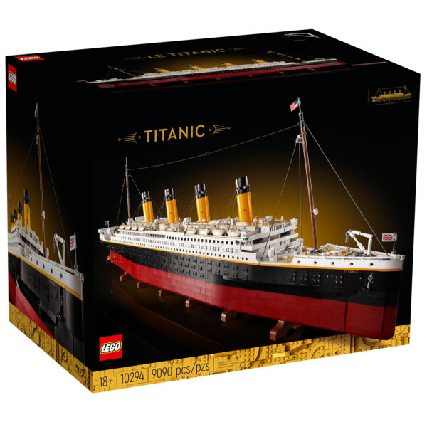 lego adults welcome 10294 titanic 2021 box front
