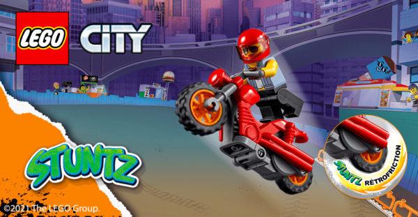 Nouveautés LEGO CITY STUNTZ : défaut de fabrication sur les produits commercialisés outre-Atlantique