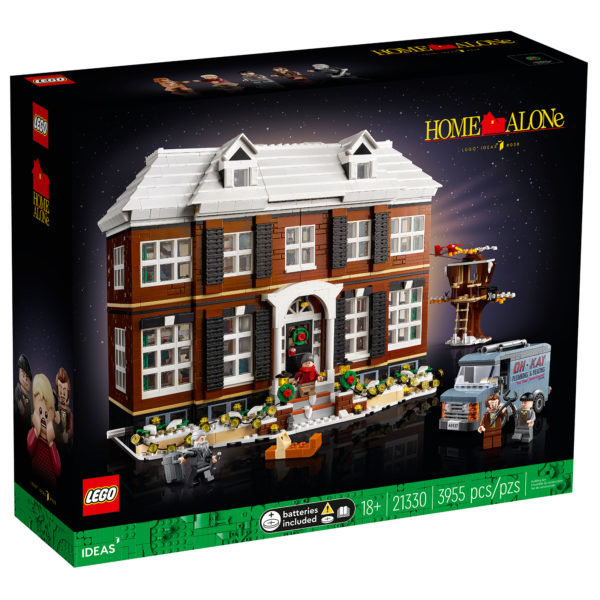 lego ideas 21330 home alone house box front