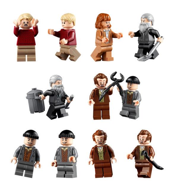 lego ideas 21330 home alone house minifigures
