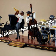 lego ideas jazz quartet