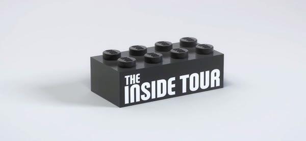 LEGO Inside Tour 2022 : ouverture des inscriptions le 26 octobre 2021