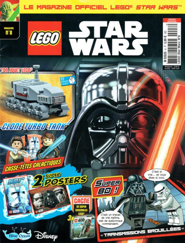 En kiosque : le numéro d'octobre 2021 du magazine officiel LEGO Star Wars