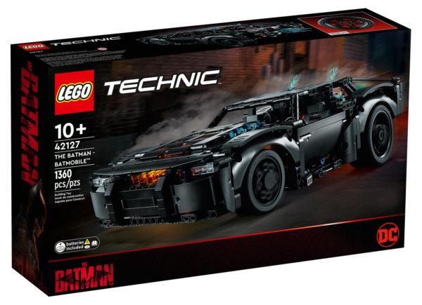 Nouveauté LEGO Technic 2022 : 42127 The Batman Batmobile