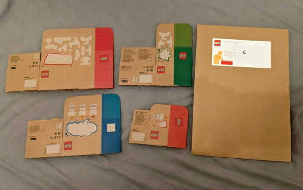 new lego sustainable cardboard packaging 2022 5